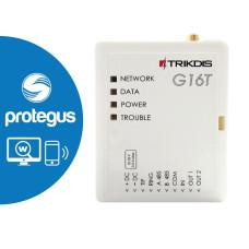 Comunicator GSM / GPRS - G16T |Comunicator GSM pentru centralele cu comunicator PSTN încorporat. Conectarea la centrale se efectuează pe liniile de RING si TIP ale acestora, modulul emulând o linie telefonică PSTN.